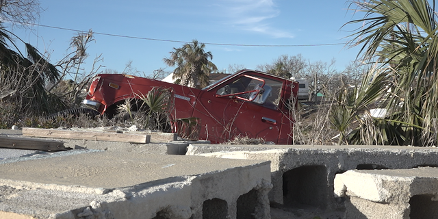 Mexico Beach was the hardest-hit area in the Florida Panhandle.