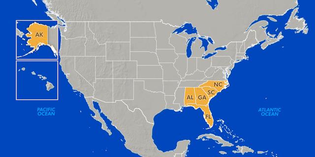 U.S. Senators David Perdue (R-GA), Johnny Isakson (R-GA), Doug Jones (D-AL), Marco Rubio (R-FL), Rick Scott (R-FL), Tim Scott (R-SC), Thom Tillis (R-NC), and Dan Sullivan (R-AK) introduced a bipartisan disaster relief package with the backing of President Trumpfor states affected by recent natural disasters.