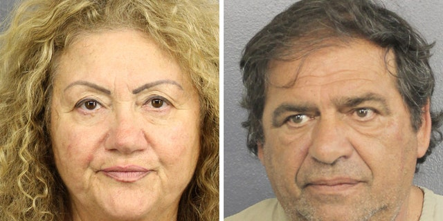 Ida Shafir, 67, and Nick Bogomolsky, 61,were arrested at Fort Lauderdale-Hollywood International Airport in Florida on Tuesday, according to the sheriff's office.