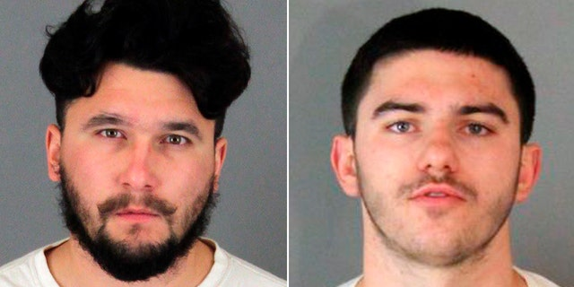Owen Shover, 18, right, and his 21-year-old brother, Gary Shover, left, were arrested Monday on suspicion of murdering 16-year-old Aranda Briones.