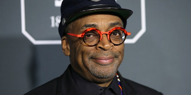 Spike Lee arrives at the 24th Critics Choice Awards in Santa Monica, California, on January 13, 2019.
