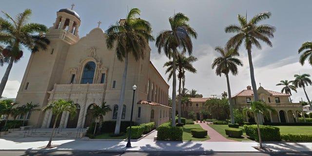 St. Edward Roman Catholic Church in Palm Beach, Florida.