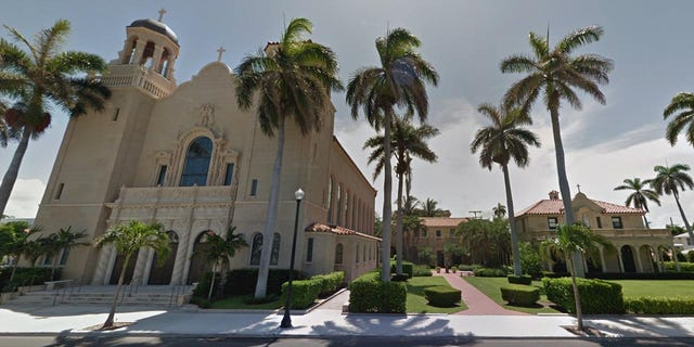 St. Edward Roman Catholic Church in Palm Beach, Florida.