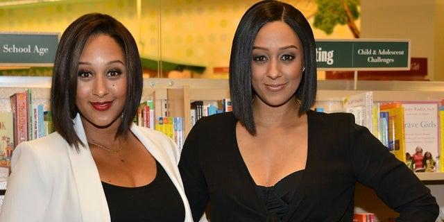 Tamera Mowry-Housley [left] drank her twin sister Tia Mowry-Hardrict's [right] breast milk.