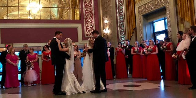 Now, the two new Mr. and Mrs. Salyers have given fans an unprecedentedglimpse of their twin-sane lives with never-before-seen footage of their big day – and lives – with a new television special.