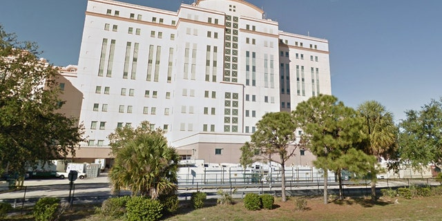 Larry Ray Bon, the FBI says, opened fire at this VA medical center in Riviera Beach, Florida, on Wednesday night.