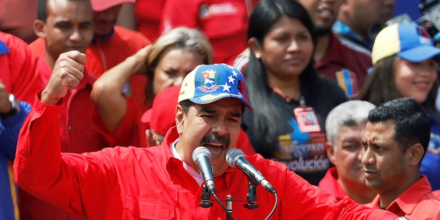 Venezuela's President Nicolas Maduro attended a rally in support of the government on Saturday, Feb. 2, 2019.