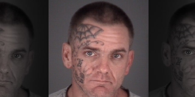 Wade Smith, 41, was arrested for domestic battery on Sunday.