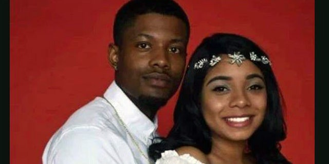 Skylar Williams and her suspected abductor, Ty'rellPounds.