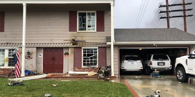 "Twitter user Joshua Nelson wrote, ""A few houses down [from the crash] the propeller and engine landed in their yard."""
