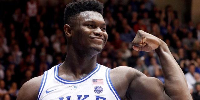 Zion Williamson led Duke to an ACC title in 2019. (AP Photo/Chris Seward)