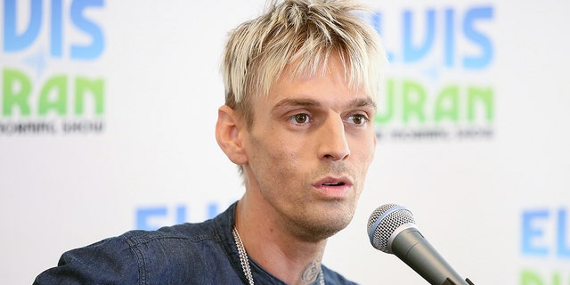 Aaron Carter explained why he decided to become a gun owner.