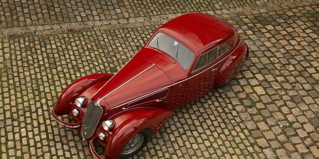 The 1939 Alfa Romeo 8C was sold for one of the highest prices ever for a pre-war car.