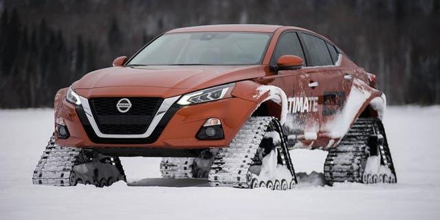 nissan altima awd test drive double  pleasure fox news