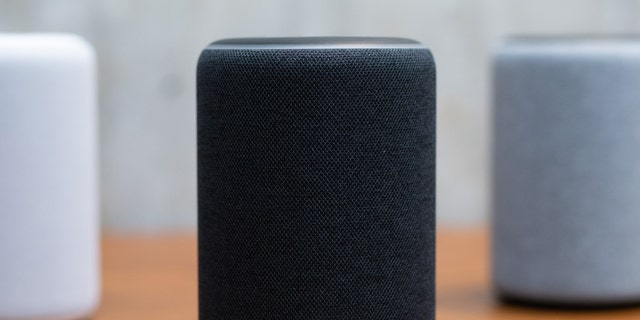 The updated Amazon Alexa Plus is on display in Amazon's Day 1 building in Seattle on September 20, 2018.