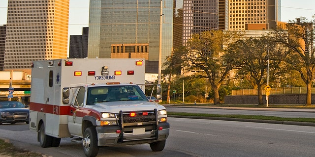 A Texas man stole an ambulance and led police on a chase Thursday morning.