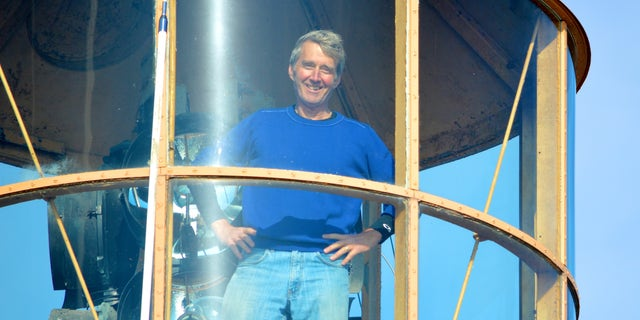 Bill Golden spent years and hundreds of thousands of dollars renovating his Nantucket Lightship. (Courtesy Bill Golden)