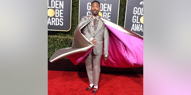 Billy Porter arrives at the 76th Annual Golden Globe Awards at The Beverly Hilton Hotel on Jan. 6, 2019 in Beverly Hills, Calif.