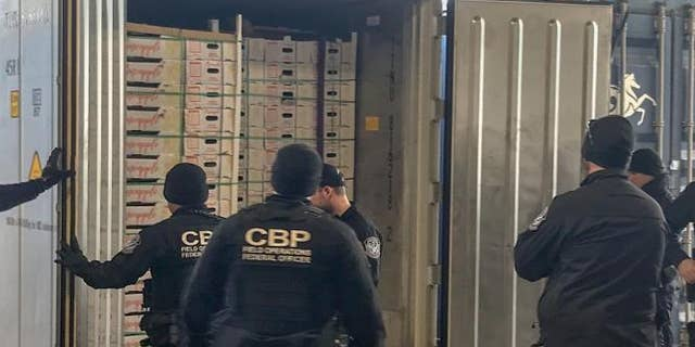 """A subsequent field test confirmed that the packages contained cocaine,"" CBP said."