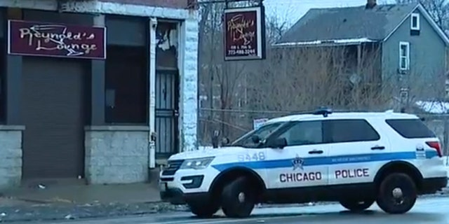 Seven people were shot after a gunman opened fire at a group of people outside of of Reynold's Lounge on the city's far South Side early Sunday.