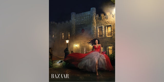 Rapper and model Cardi B in the March issue of Harper's BAZAAR Spring fashion issue.