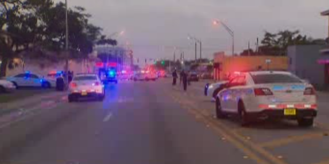 According to a local report, one person was killed and three police officers were injured following a police chase in Miami, Florida.