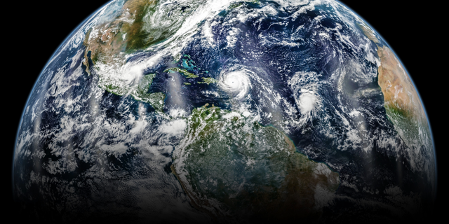 A new study says there's been an uptick in the number of storms in the North Atlantic and Central Pacific ocean basins, with has corresponded with a decline in storms in the western Pacific and in the South Indian Ocean.