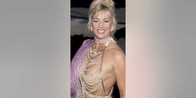 Actress Edy Williams was known for wearing scandalous outfits to awards shows and film festivals.