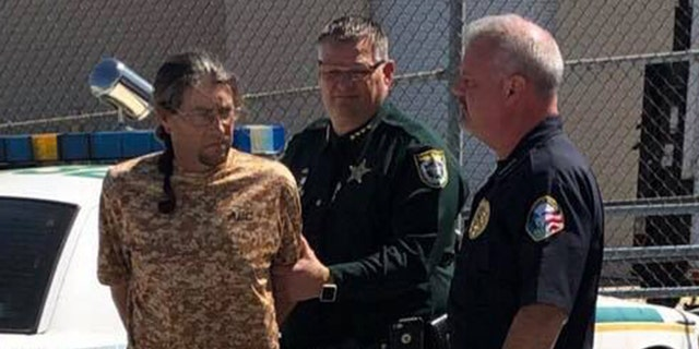 James Cordell Doughty Suthann was arrested Monday for an alleged act a Florida sheriff is calling ''one of the most difficult things I have ever had to watch'.