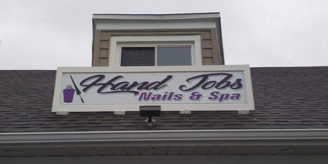 That's one way to get attention for your business.