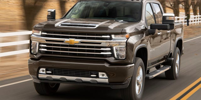 The 2020 Chevrolet Silverado Hd Is The Strongest Pickup In