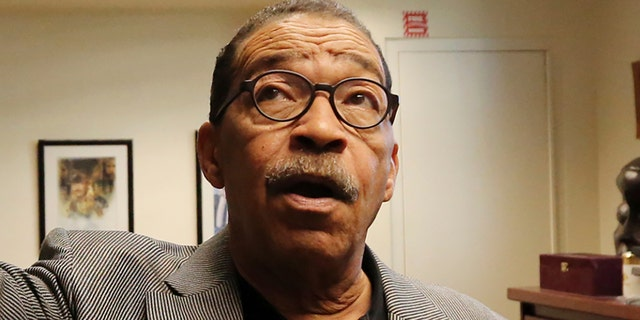 Los Angeles City Council President Herb Wesson describe how members of his staff had heard rustling sounds at City Hall.