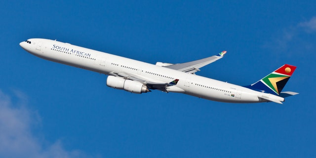 The incident allegedly occured on a flight from Paris to Los Angeles.