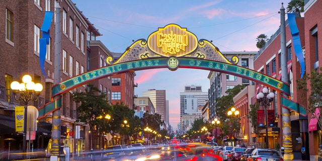 San Diego's Gaslamp Quarter keeps things going with lively restaurants and bars.