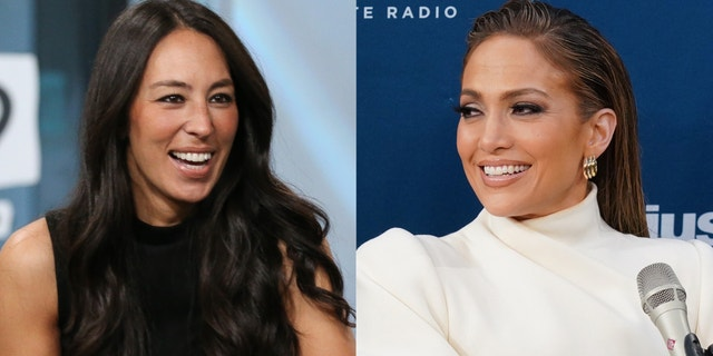 Joanna Gaines and Jennifer Lopez