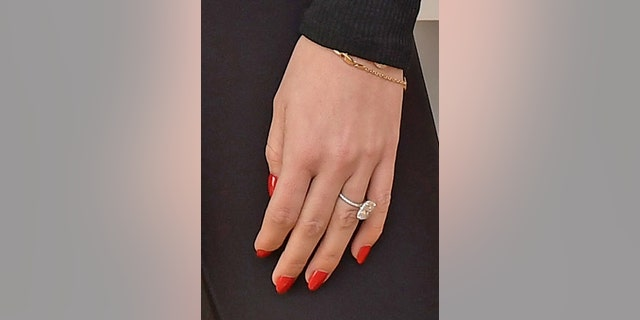 Katherine Schwarzenegger's engagement ring from Chris Pratt