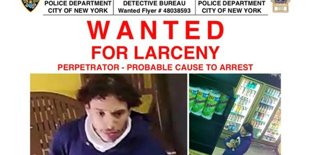 New York police released photos of a man wanted for allegedly stealing a 2-month-old kitten from a bodega in the Bronx.