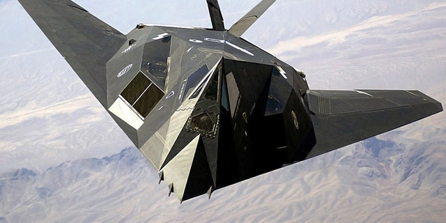 Lockheed Martin F-117 Night Hawk - Image courtesy of Lockheed Martin