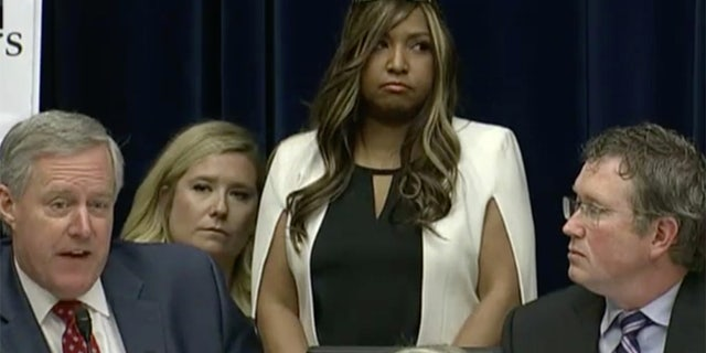 Lynne Patton at Wednesday's House hearing<br><br>