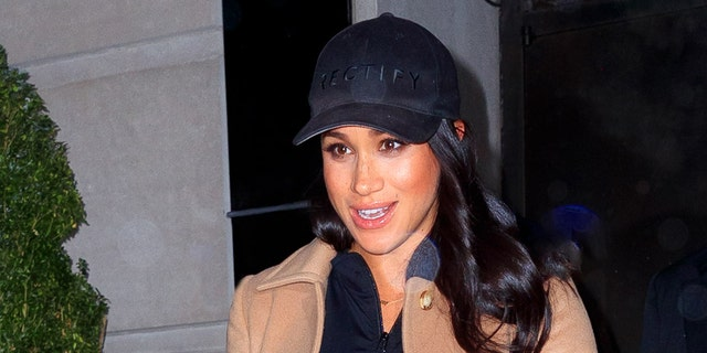 Meghan Markle in New York City.