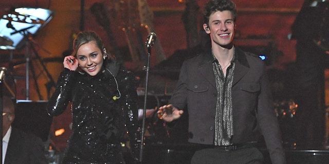 Miley Cyrus and Sean Mendes