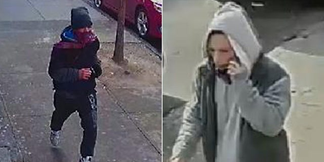 Two persons of interest police are still seeking in the wake of Sunday's New York City Subway shooting.