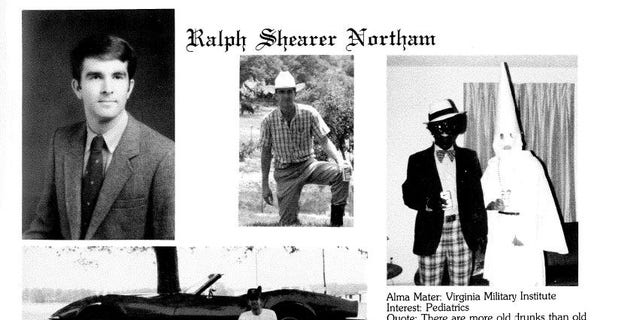 Fox News obtained a copy of the 1984 yearbook page from the Eastern Virginia Medical School library in Norfolk.
