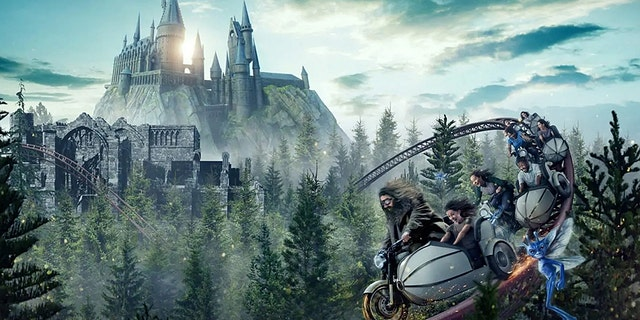 Hagrid's Magical Creatures Motorbike Adventure will take riders on a trip with encounters from the wizarding world.