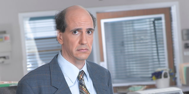 Sam Lloyd is seen here as lawyer Ted Buckland on the sitcom 'Scrubs.' The actor's agent confirmed to Fox News that he has died. He was 56.