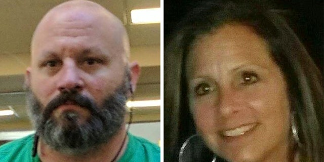 Gregory Schatz, left, and Laura Randall, right, were found dead at a home in Boca Raton, Florida on Monday afternoon, authorities said.