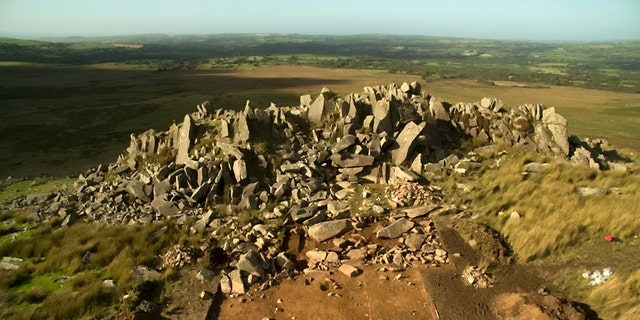 Quarrying of the 'bluestones' used in the construction of Stonehenge took place 180 miles away in Wales 5,000 years ago, according to a new study. Excavations at two Welsh quarries - known to be the source of the Stonehenge 'bluestones' - have provided new evidence of megalith quarrying around 3000 BC. (Credit: SWNS)