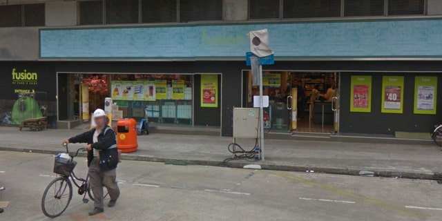 Supermarket staff reportedly contacted police, likely of a furnish and sanitized a area where a cattle had been eating.