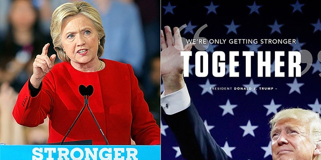 """Speaking about his love for Texas, Trump told his supporters: """"It's been a great romance.""""And we're only getting stronger together."""" However, many were quick to point out Hillary Clinton's failed 2016 campaign used the same phrase as its official slogan."""