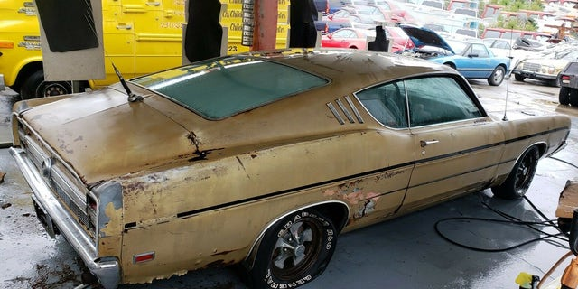 Its A  Torino Gt Cobra Jet Fastback That Its Original Owner Bought Off The Lot And Put  Miles On Before Parking It In